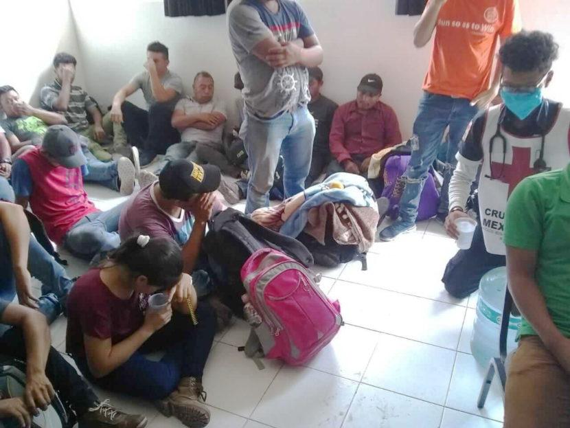 CRUZ ROJA DE ECATEPEC ATIENDE MIGRANTES EN EXTREMAS CONDICIONES DE INSALUBRIDAD