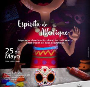 INVITA TOLUCA AL JUEGO-TALLER ESPÍRITU DE ALFEÑIQUE