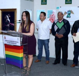 INAUGURAN EN EL PATIO DEL PALACIO MUNICIPAL LA EXPOSICIÓN