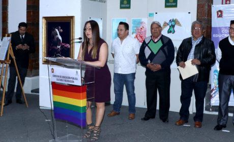 """INAUGURAN EN EL PATIO DEL PALACIO MUNICIPAL LA EXPOSICIÓN """"EL OTRO Y YO"""""""