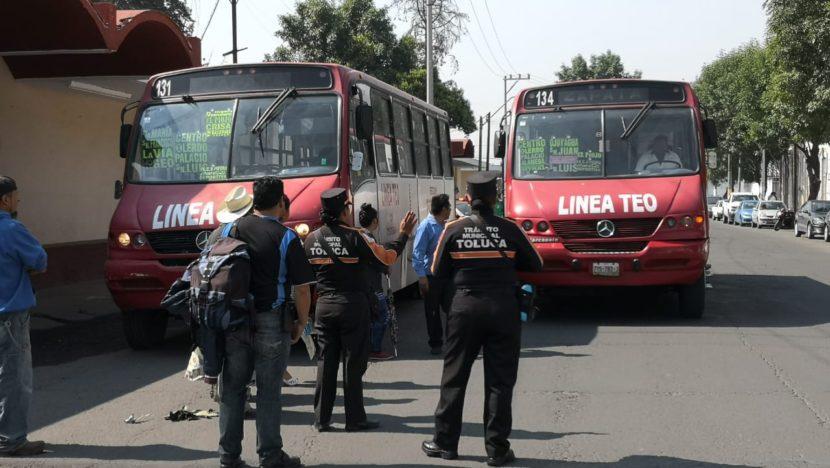 MANO FIRME EN CONTRA DEL TRANSPORTE QUE CAUSE CONTAMINACIÓN EN TOLUCA