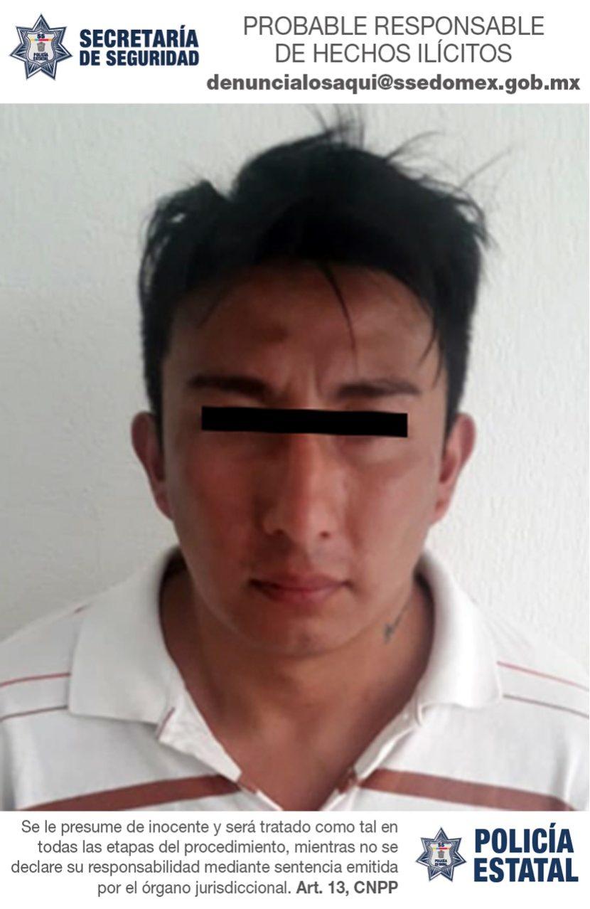 DETIENEN A PROBABLE RESPONSABLE DE ROBO CON VIOLENCIA EN CAPULTITLÁN