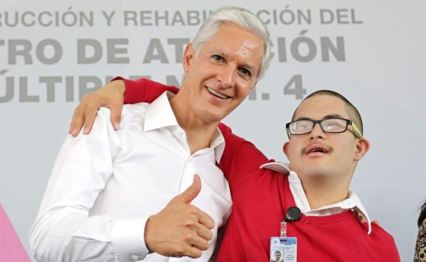 ANUNCIA ALFREDO DEL MAZO PROGRAMA DE REHABILITACIÓN DE LOS 170 CENTROS DE ATENCIÓN MÚLTIPLE DEL EDOMÉX