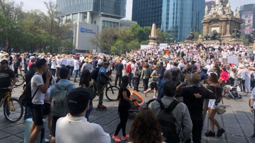 MARCHAS CONTRA EL GOBIERNO DE LÓPEZ OBRADOR EN VARIAS CIUDADES DEL PAÍS
