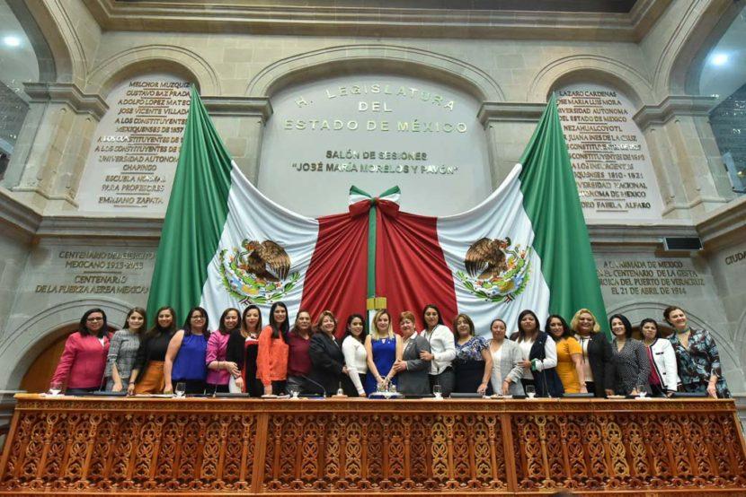 LA 60 LEGISLATURA MEXIQUENSE, PRIMERA EN LA HISTORIA ESTATAL CON PARIDAD DE GÉNERO