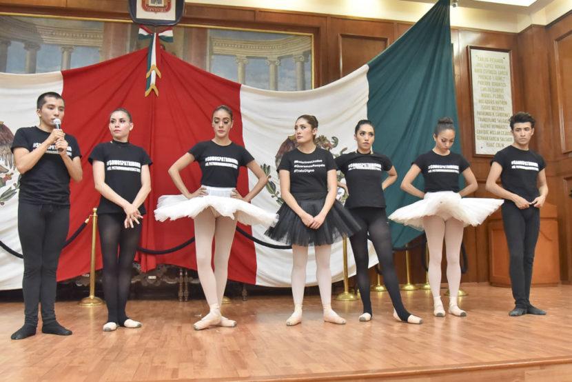 PIDEN BAILARINES QUE EL BALLET CLÁSICO DE EDOMEX NO DESAPAREZCA