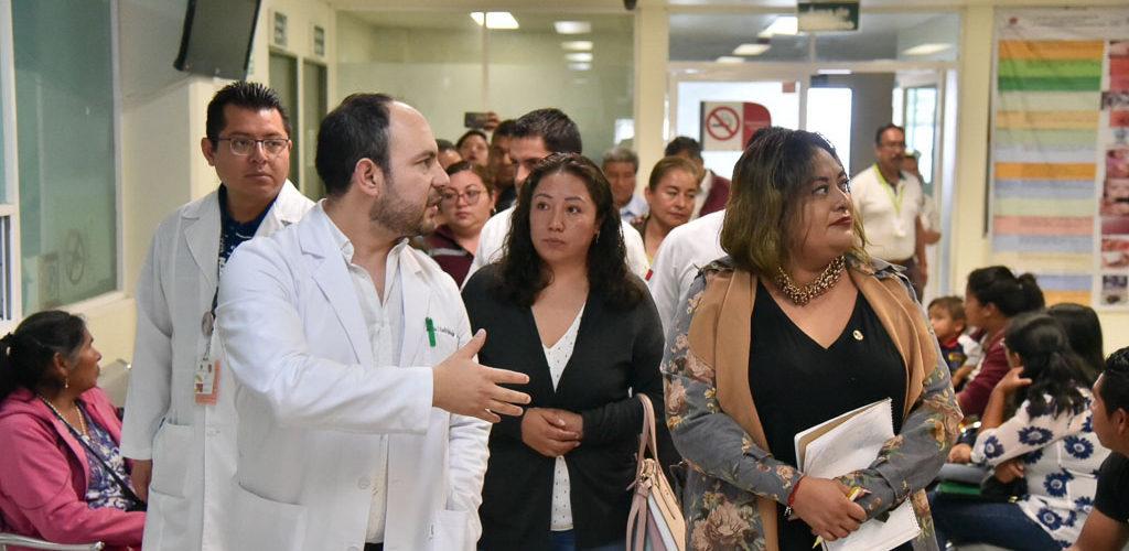 VERIFICAN DIPUTADOS DE MORENA CARENCIAS EN HOSPITALES PÚBLICOS