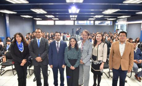 DIPUTADOS PANISTAS COMPARTEN CON ESTUDIANTES INICIATIVAS EN PRO DE LA VIDA