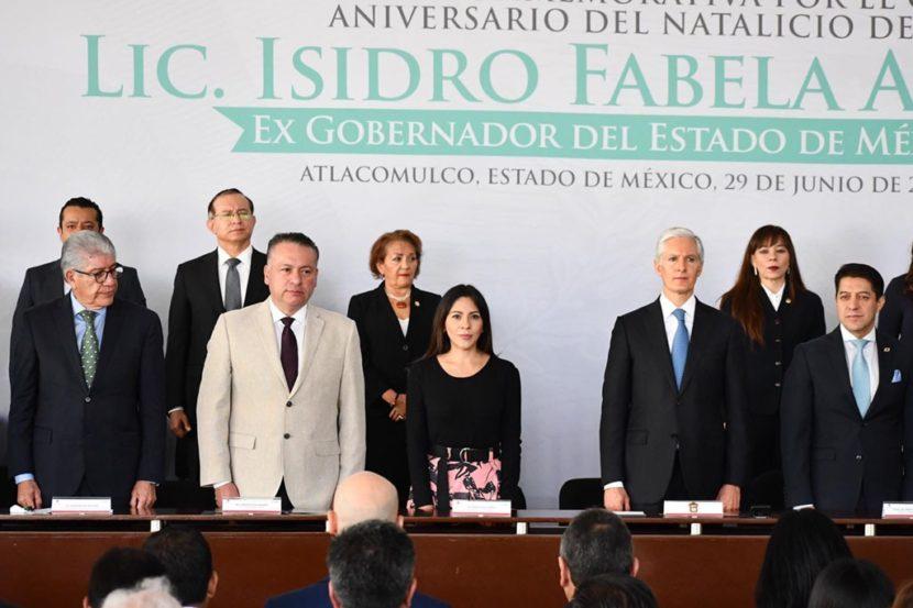 ASISTEN LEGISLADORAS A CEREMONIA DEL 137 ANIVERSARIO DEL  NATALICIO DE ISIDRO FABELA ALFARO