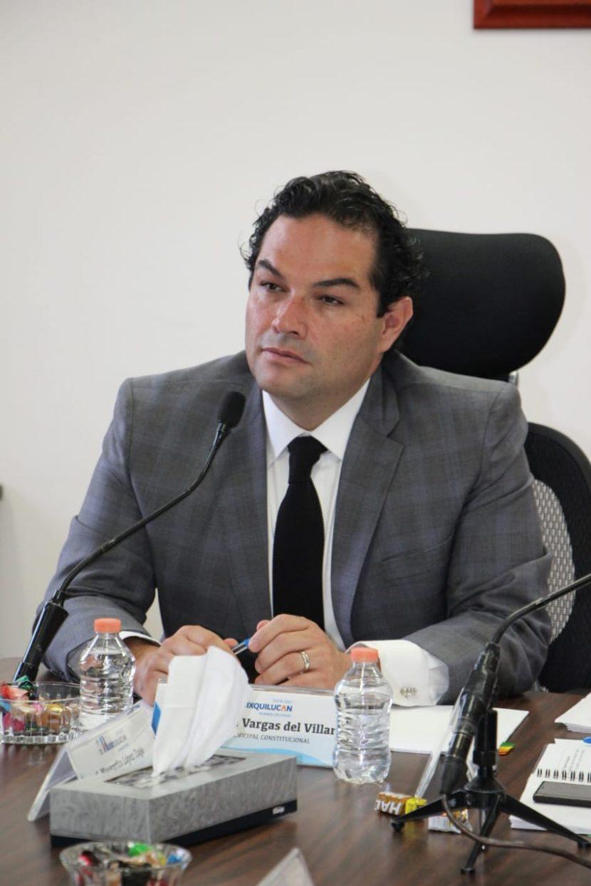 PIDE EL PRESIDENTE DE HUIXQUILUCAN RETOMAR PROYECTO DE AEROPUERTO EN TEXCOCO