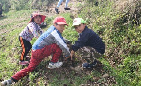«JUNTOS POR UNA CAPITAL VERDE»:  REFORESTAN LA ZONA ARQUEOLÓGICA DE CALIXTLAHUACA