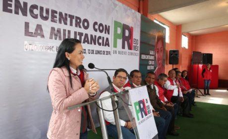 NUESTRA MILITANCIA   ES DE CARNE Y HUESO: ALEJANDRA DEL MORAL