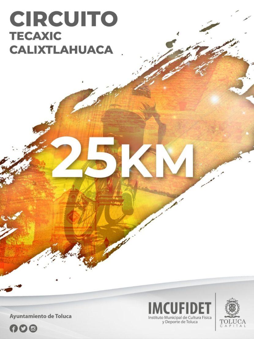 """INVITA TOLUCA A PEDALEAR EN EL """"CIRCUITO TECAXIC-CALIXTLAHUACA MTB 2019"""""""