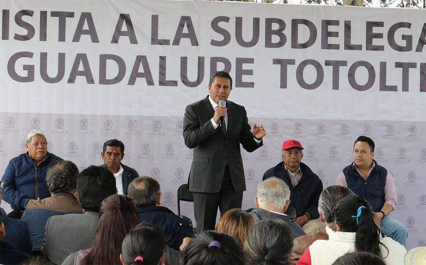 INICIA ALCALDE DE TOLUCA SEGUNDA ETAPA DE GIRAS DE TRABAJO