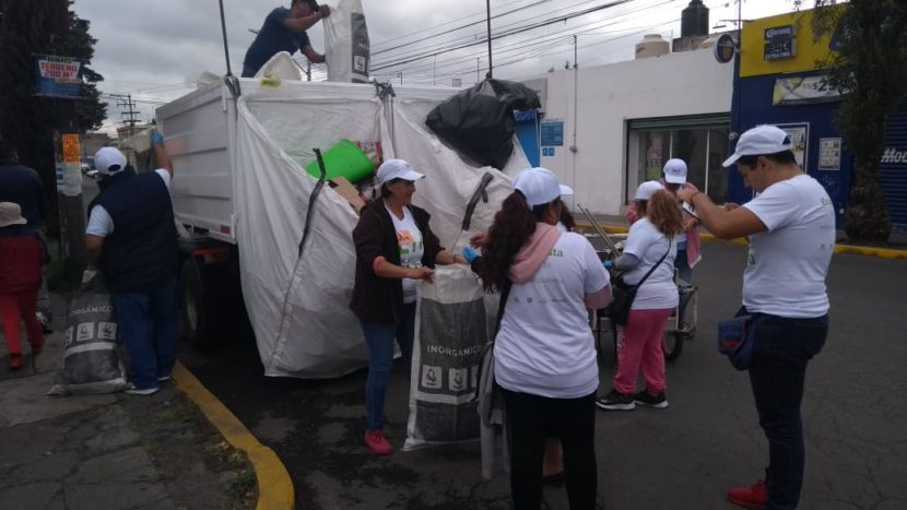 RECOLECTAN MÁS DE 39 TONELADAS DE BASURA EN TOLUCA