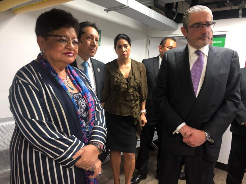 INAUGURAN AGENCIA DEL MINISTERIO PÚBLICO METROPOLITANA