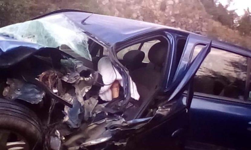 ACCIDENTE DEJA UN MUERTO EN LA TOLUCA-NAUCALPAN