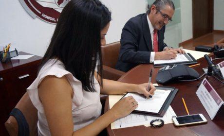 FIRMAN CONVENIO DE COLABORACIÓN FGJEM Y MÉXICO UNIDO CONTRA LA DELINCUENCIA