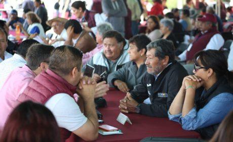 MÁS DE 5 MIL PERSONAS ATENDIDAS EN LAS AUDIENCIAS PÚBLICAS DE METEPEC