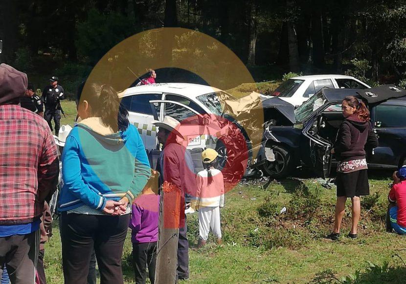 UN MUERTO Y AL MENOS 10 HERIDOS EN ACCIDENTE EN LA PUERTA SULTEPEC