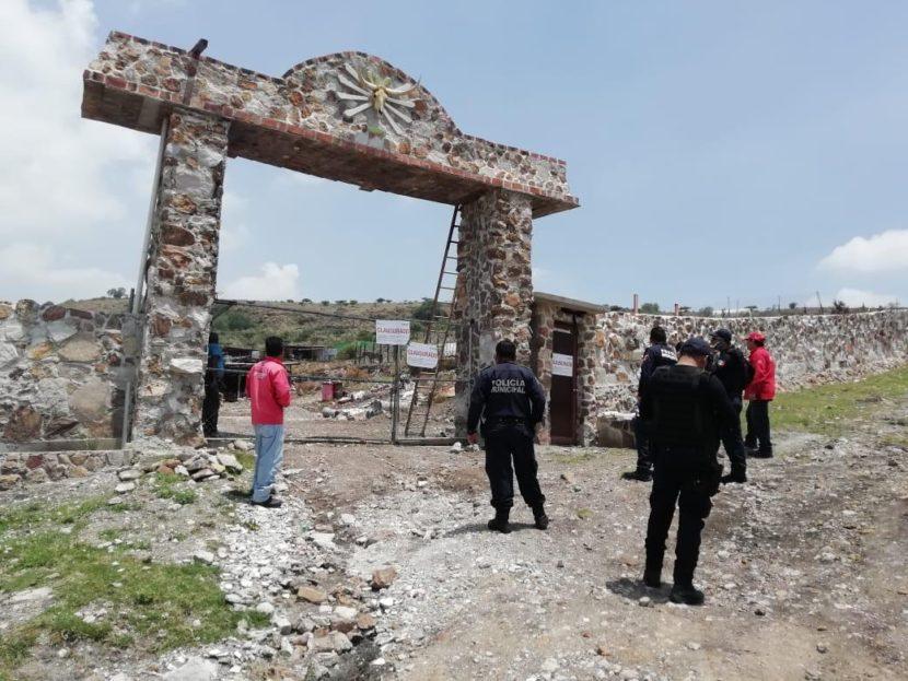 CLAUSURA PROPAEM CONSTRUCCIÓN EN SIERRA DE TEPOTZOTLÁN
