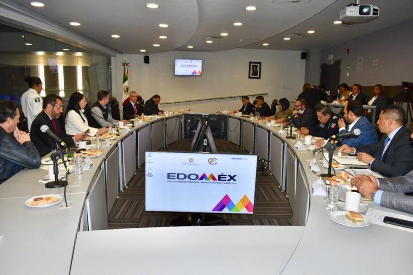 GOBIERNOS DEL EDOMEX, CDMX E HIDALGO COORDINAN ESFUERZOS EN MATERIA DE SEGURIDAD PÚBLICA