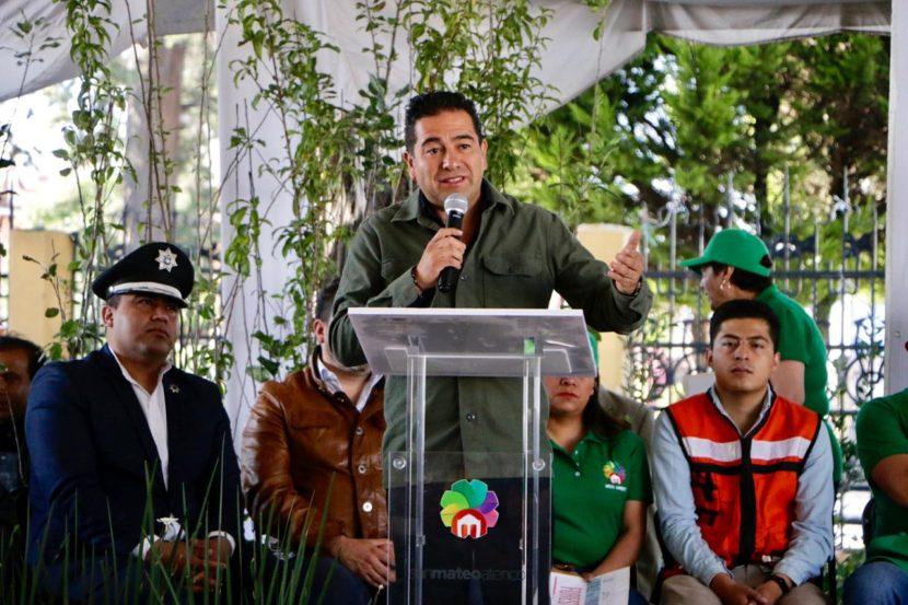 PONEN EN MARCHA PROGRAMA «GÁNALE A LA BASURA» EN SAN MATEO ATENCO
