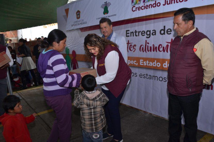 BUSCA DIF ZINACANTEPEC FORTALECER LA ALIMENTACIÓN DE NIÑAS, NIÑOS Y ADOLESCENTES