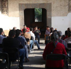 MUESTRAN SONIDEROS SU LABOR MUSICAL EN TERTULIAS CULTURALES