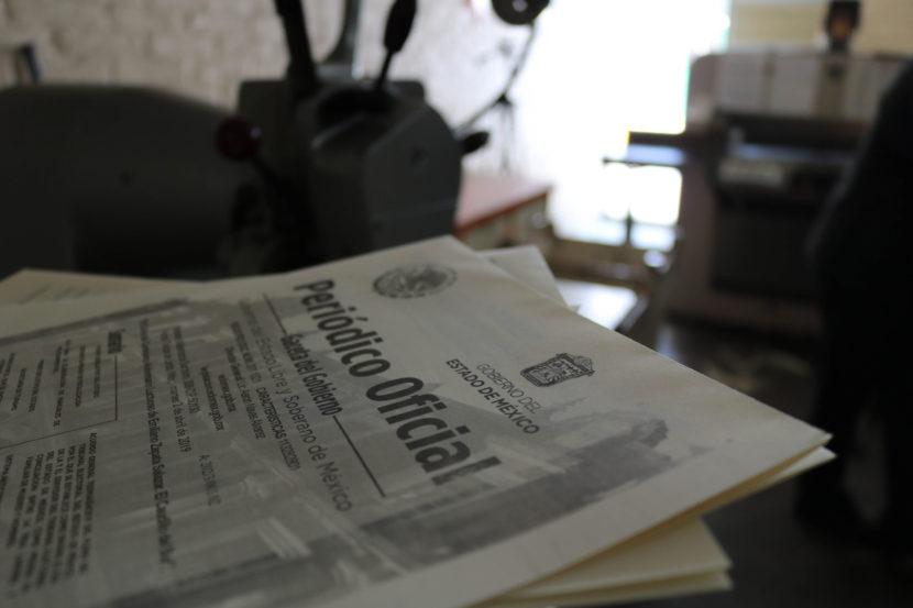 COMBINA PUBLICACIÓN DE LA GACETA DE GOBIERNO MODERNIDAD Y TRADICIÓN
