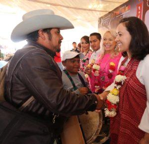 CELEBRAN CON TRADICIONAL DANZA DE LOS XITA, EL JUEVES DE CORPUS EN TEMASCALCINGO