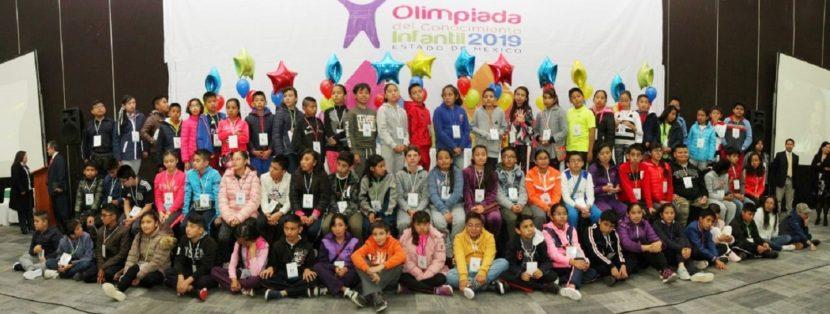 INICIAN GANADORES DE LA OLIMPIADA DEL CONOCIMIENTO 2019 SEMANA DE CONVIVENCIA CULTURAL