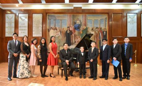 NIÑAS Y NIÑOS PIANISTAS, OFRECEN CONCIERTO EN EL RECINTO LEGISLATIVO