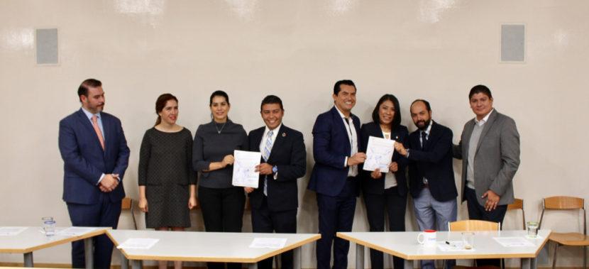 ATESTIGUAN DIPUTADAS FIRMA DE CONVENIO PARA CAPACITAR Y CERTIFICAR A PINTORES