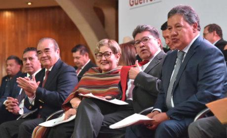 TIENEN HIGINIO MARTINEZ Y MARTHA GUERRERO COMPROMISO FIRME  Y VISIÓN CLARA DE LA 4T: MAURILIO HERNÁNDEZ