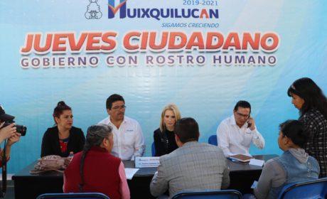 ACERCAN JUEVES CIUDADANO A TODOS LOS RINCONES DE HUIXQUILUCAN