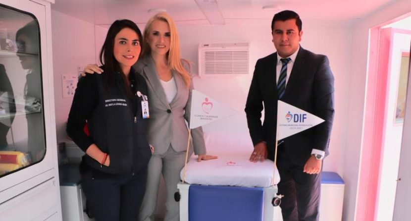 INICIA OPERACIONES LA UNIDAD ROSA DEL DIF EN HUIXQUILUCAN