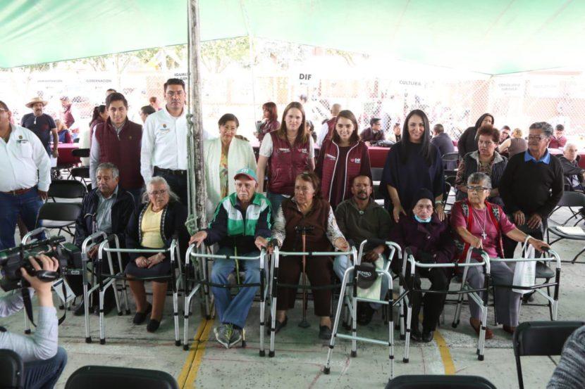REFRENDAMOS COMPROMISO DE BIENESTAR PARA ADULTOS MAYORES: GABY GAMBOA