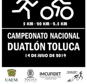 TOLUCA, SEDE DEL CAMPEONATO NACIONAL DE DUATLÓN 2019