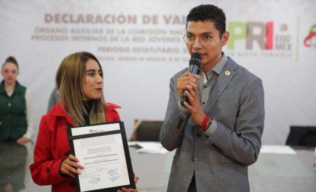 CHRISTIAN QUINTANA Y MARIELA RODRÍGUEZ NUEVOS DIRIGENTES DE LA RED JÓVENES POR MÉXICO