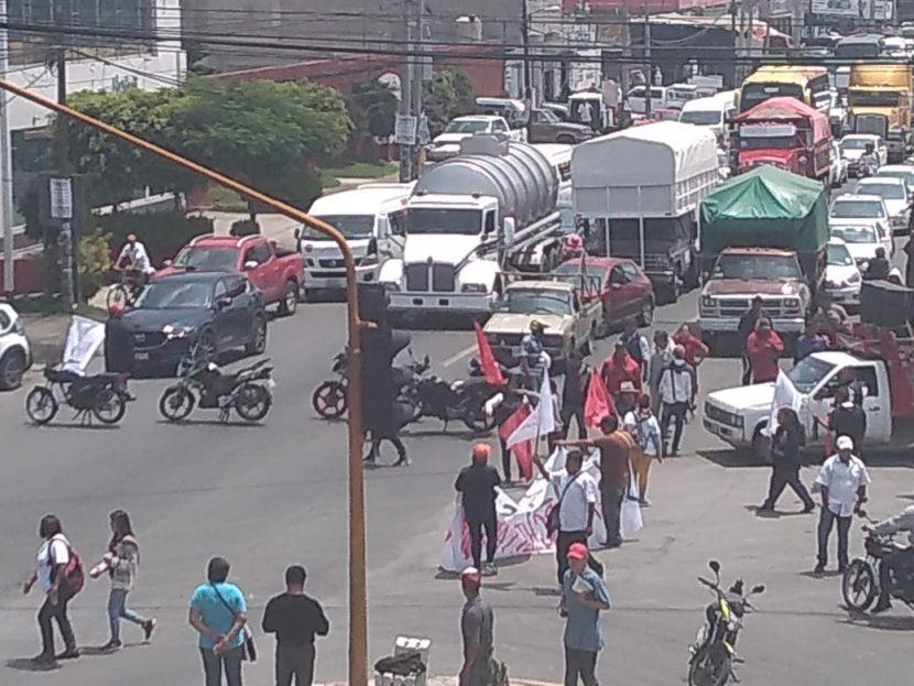 AMEDRENTANANTORCHISTAS DE CHIMALHUACAN A LOCATARIOS DE CHICOLOAPAN