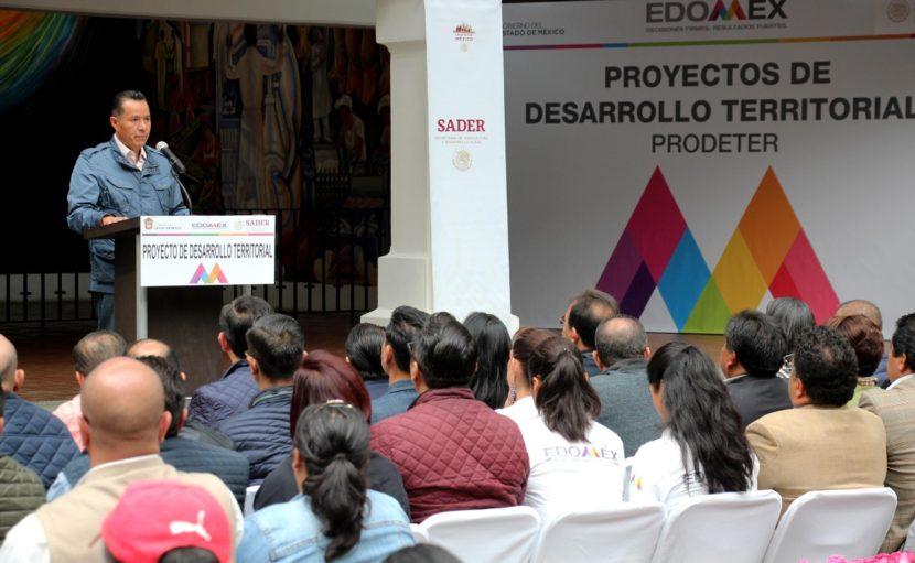 INICIAN GOBIERNOS FEDERAL Y ESTATAL PROGRAMA DE DESARROLLO TERRITORIAL
