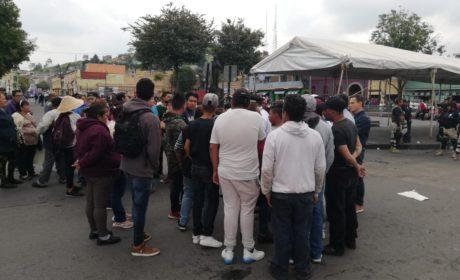 TENSA SITUACIÓN POR INSTALACIÓN DE JUEGOS MECÁNICOS EN TOLUCA
