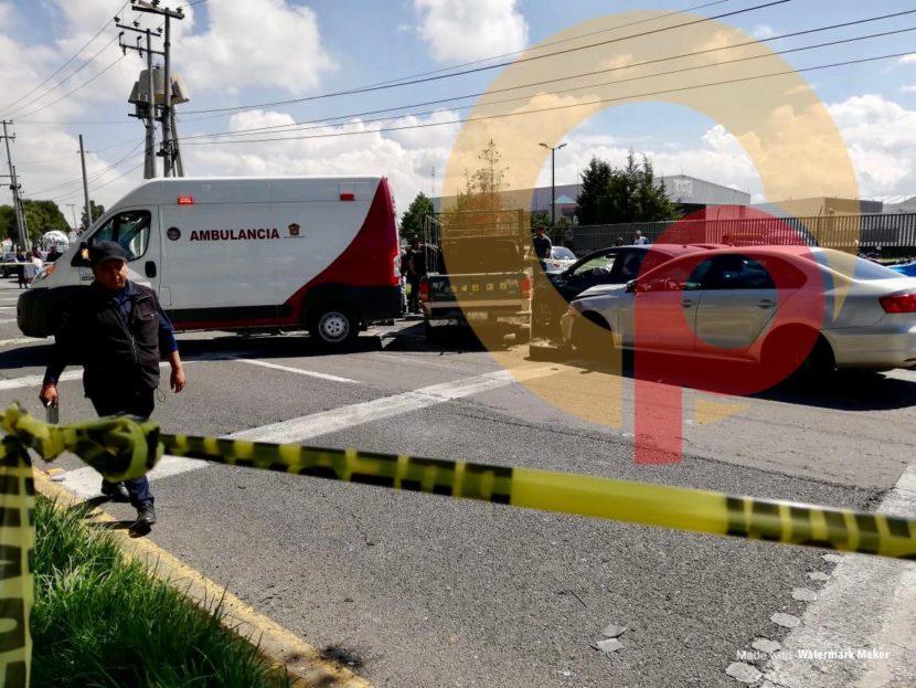 MUERE BEBÉ TRAS ACCIDENTE EN BULEVAR AEROPUERTO EN TOLUCA