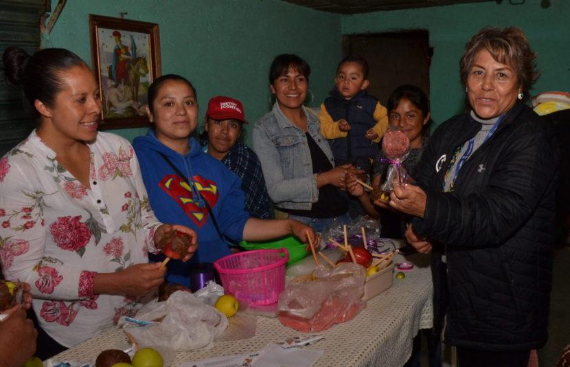 IMPARTE DIF ZINACANTEPEC CURSOS Y TALLERES EN APOYO A MADRES ADOLESCENTES