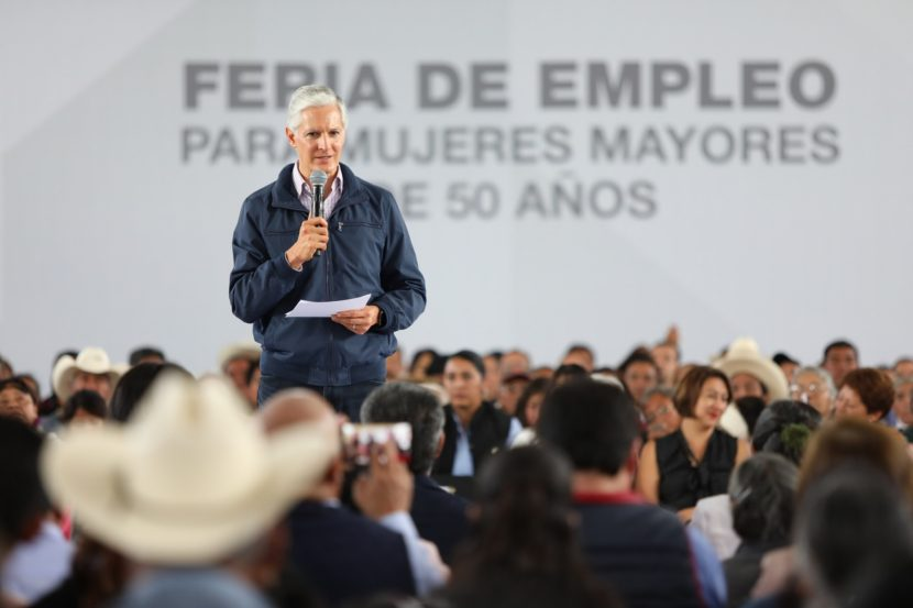 IMPULSA GOBERNADOR ALFREDO DEL MAZO POLÍTICA PÚBLICA PARA INCENTIVAR EMPLEO EN MUJERES MAYORES DE 50 AÑOS
