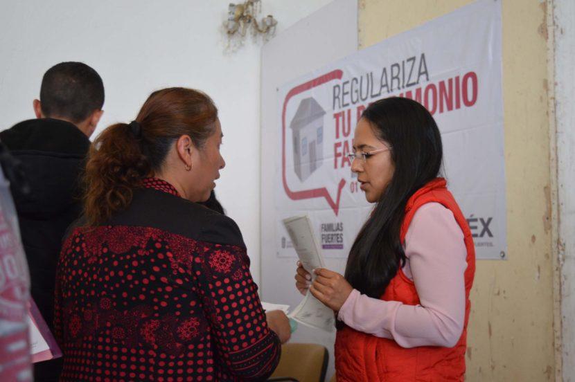 COLOCA GEM MÓDULOS ITINERANTES PARA REGULARIZAR EL PATRIMONIO DE MEXIQUENSES