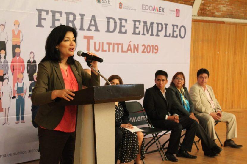 OFRECEN MÁS DE MIL 500 VACANTES EN FERIA DE EMPLEO DE TULTITLÁN