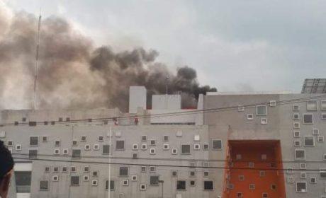 SIN MAYORES AFECTACIONES INCENDIO EN HOSPITAL DE ALTA ESPECIALIDAD DE ZUMPANGO