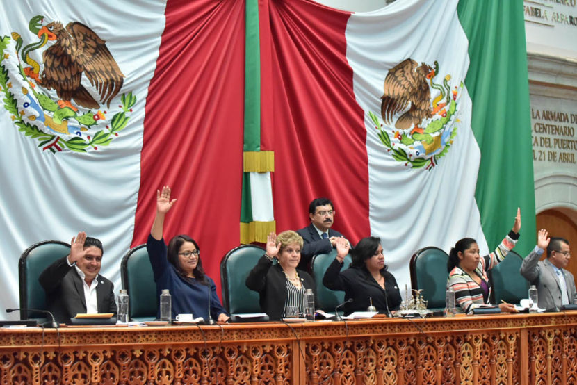 ENTREGARÁ LA LEGISLATURA LA MEDALLA JOSÉ MARÍA LUIS MORA  A MEXIQUENSES GANADORES EN LIMA 2019